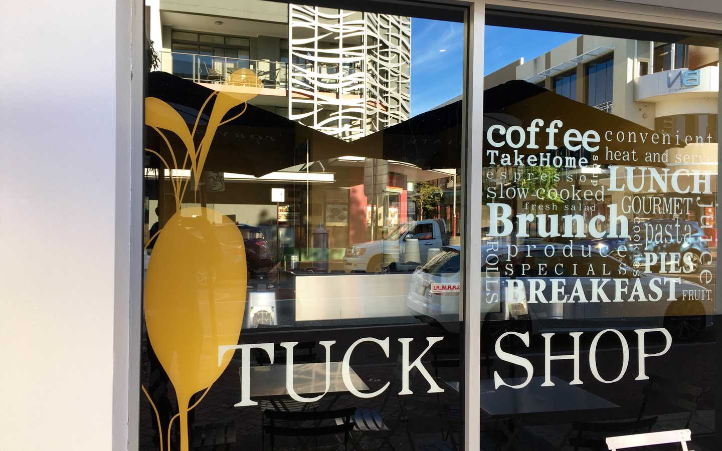 Tuck In at Northbridge hot spot Tuckshop.