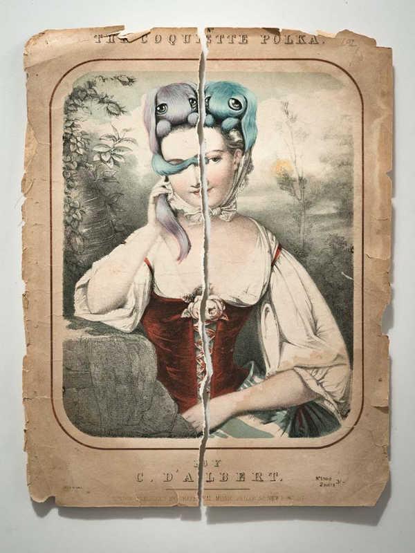 """Hayley Welsh """"Torn"""" Exhibition"""