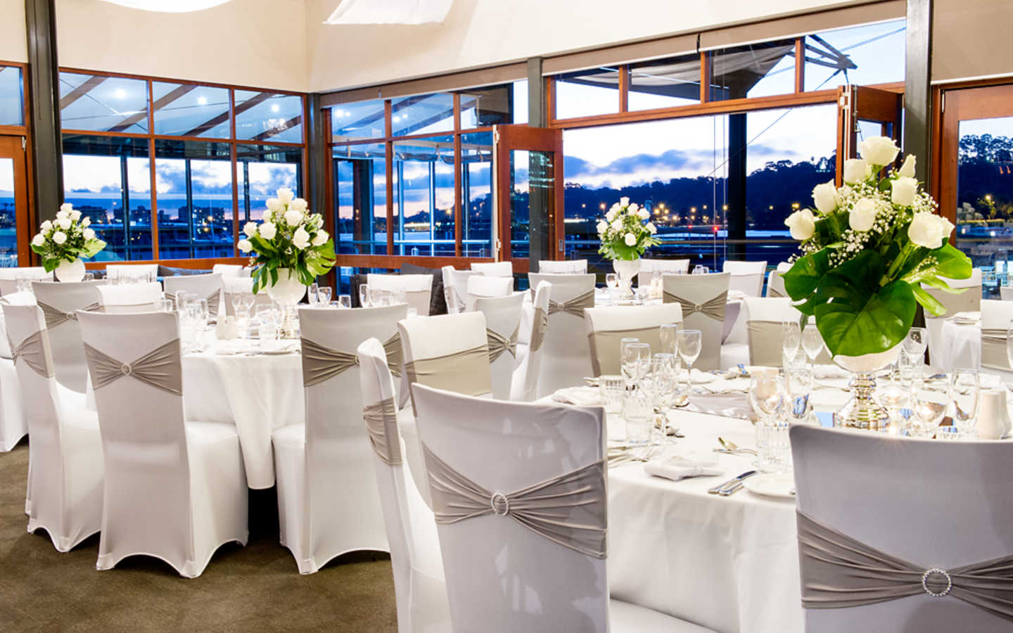Round Function Tables Bells Functions Function Room In Perth Wa Venue Menu