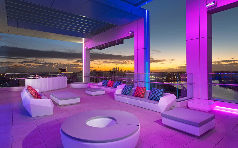 Aloft Hotel Perth Rooftop In Rivervale Wa Venue Menu