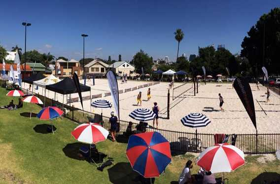 Volleyball WA-Inner City Beach photo