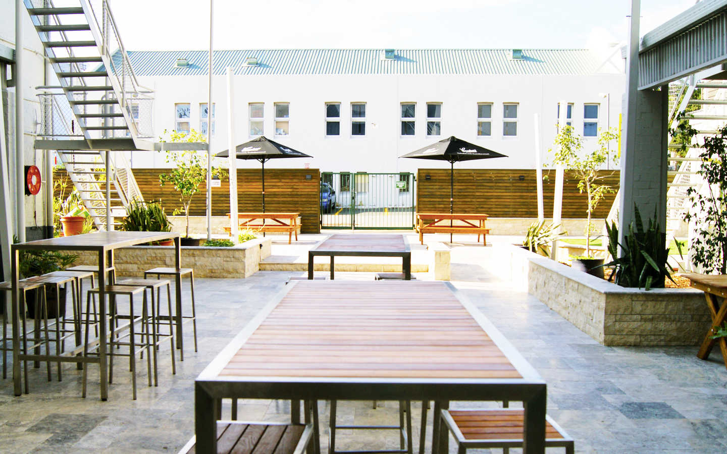 Newly Renovated Courtyard