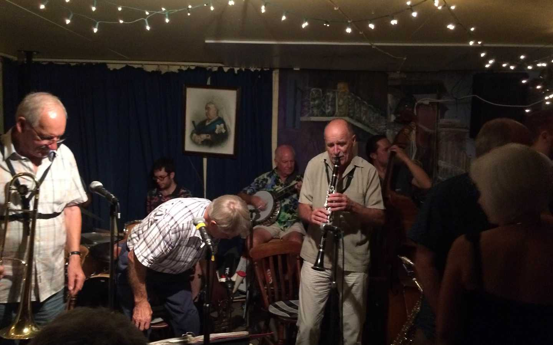 Jumpin' Friday Nights at Mount Hawthorne's Jazz Cellar.