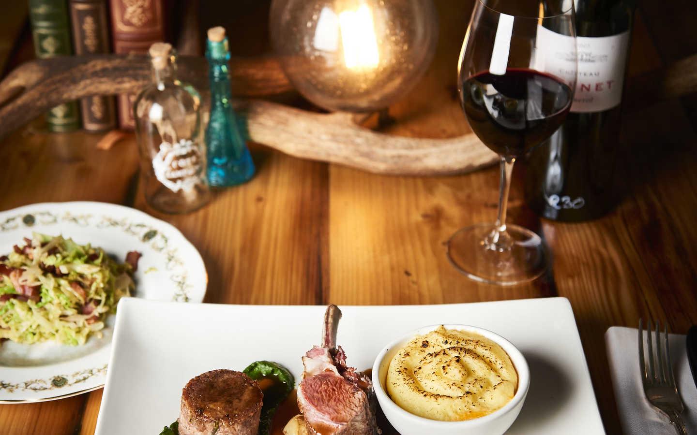 Lamb Assiette