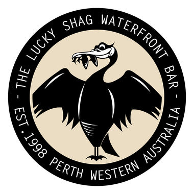 The Lucky Shag Waterfront Bar Logo - Logo Uploaded