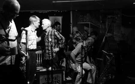 Jumpin' Friday Nights at Mount Hawthorne's Jazz Cellar. thumbnail
