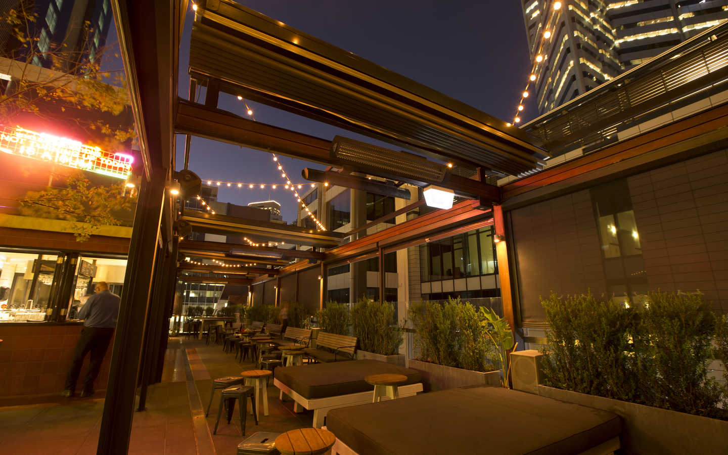Bob 39 s bar rooftop in perth wa venue menu for 125 st georges terrace perth wa