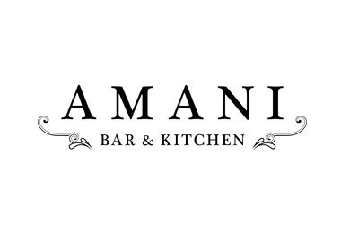Amani Bar & Kitchen Logo - Logo Uploaded